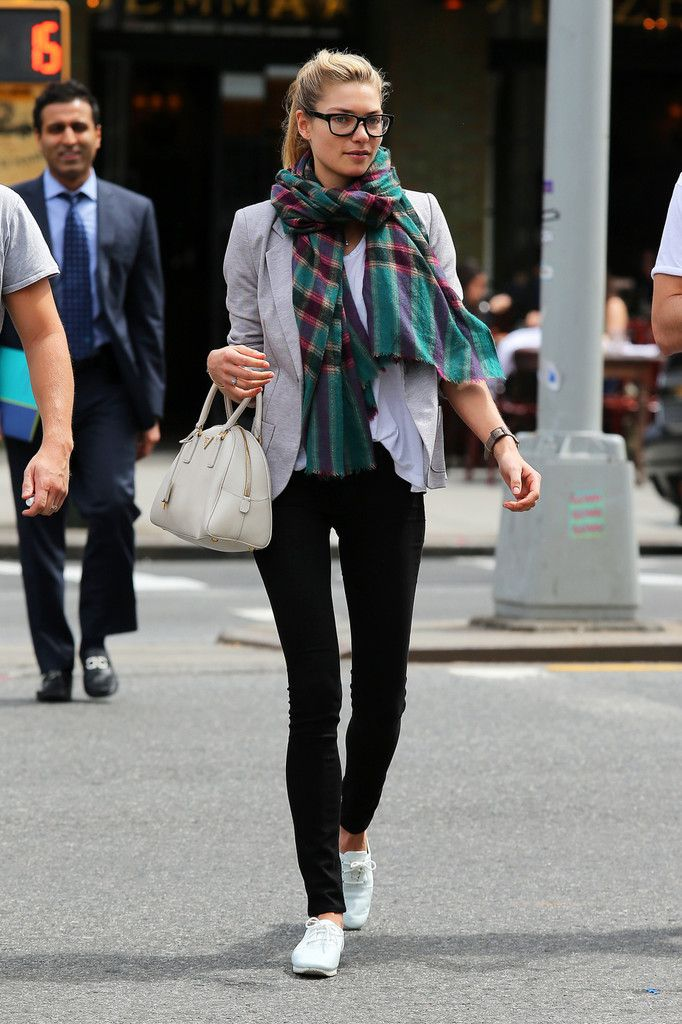 Jessica Hart Photo - Jessica Hart Wears Sexy Spectacles in NYC