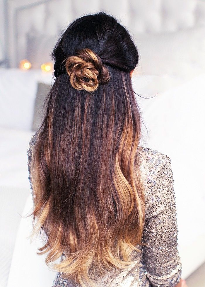 8 Pretty, Twisted Hairstyles for Party Season via @ByrdieBeautyUK