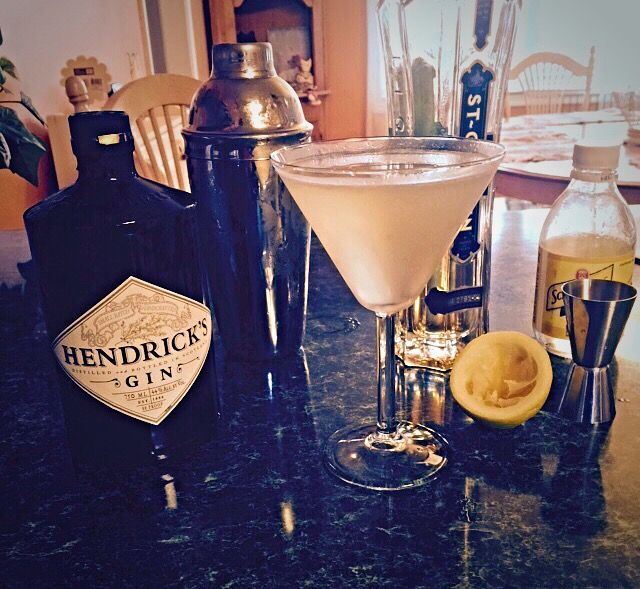 THE 21st CENTURY     2 parts Hendrick's Gin  1 part St. Germain  ½ part fresh-squeezed Lemon juice  1½ parts Schweppes Tonic Water    Shake the first three ingredients over ice. Stir in the Tonic Water. Strain into a chilled glass. Garnish with a lemon twist.
