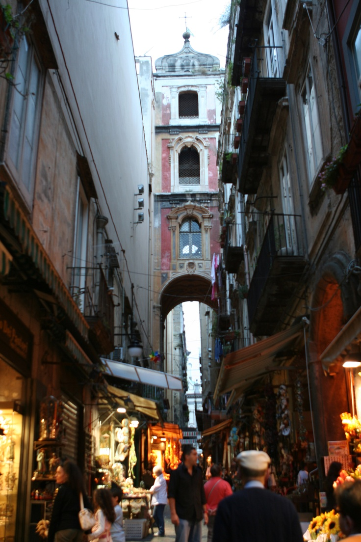 Can't wait to explore the old streets in Naples