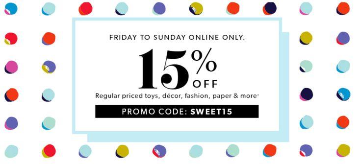 Indigo Chapters Canada Weekend Online Promo Code Deal: Save 15% Off Select Regular Priced Items June 9  11 http://www.lavahotdeals.com/ca/cheap/indigo-chapters-canada-weekend-online-promo-code-deal/210587?utm_source=pinterest&utm_medium=rss&utm_campaign=at_lavahotdeals