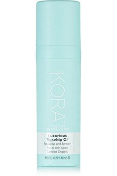 KORA Organics by Miranda Kerr Luxurious Rosehip Oil, 15ml - to put on face just before bed, soothes skin and helps prevent ageing