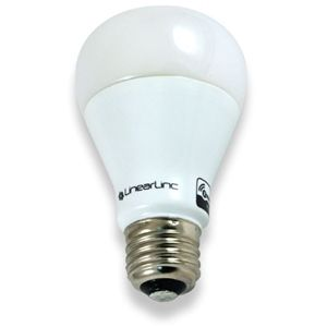 lights bulbs forward linearlinc lb60z 1 z wave dimmable led light bulb. Black Bedroom Furniture Sets. Home Design Ideas