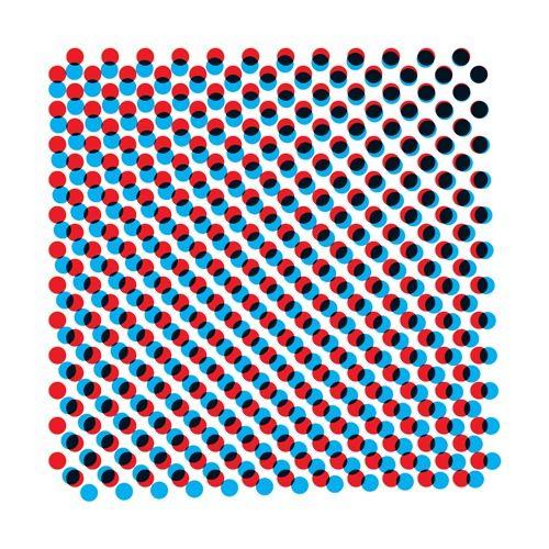 POis effet trame d'impression (Screenprint / Dries Wiewauters) #polkadots