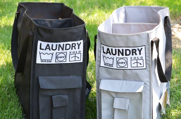 College Laundry Bag (Black)