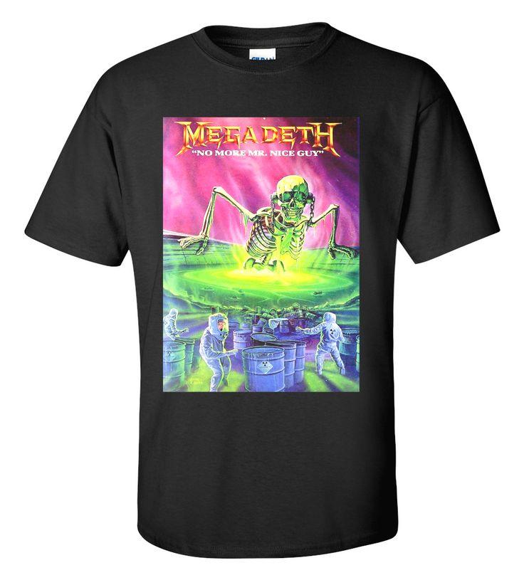 Megadeth T-shirt M/L/XL/2XL/3XL Clothing Tshirt
