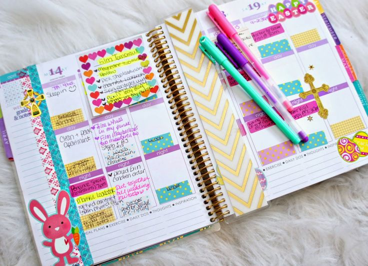 """""""I love decorating my planner. Let me know if you would like to see updates of how I decorate my planner each week. I do about three at a time in order to save time. Plus, once I take out my supplies, I'm on a roll having fun with my stickers."""" -Belinda Selene"""