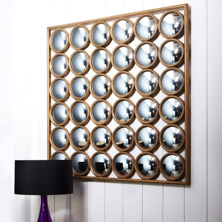 36 Facet Wall Mirror