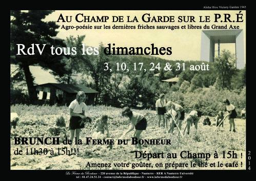 http://lafermedubonheur.over-blog.net/ Brunch, aperos et soirées electro