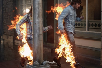 Campaign: Stunt 3 / Client: Wrangler / Agency: Fred & Farid / Country: France Award: Home / Clothing / Accessories Cristal (Campaign)