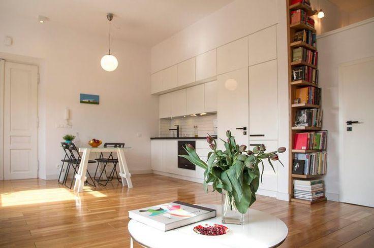 Mój jest ten kawałek podłogi, czyli mieszkanie 42 m2 szyte na miarę potrzeb