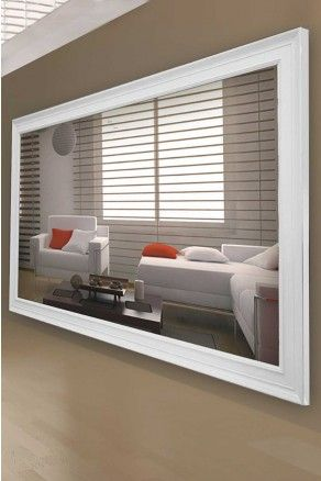 Extra large wall mirror comes in 5 different frame colours! With free deliveries, free returns & free exchanges.