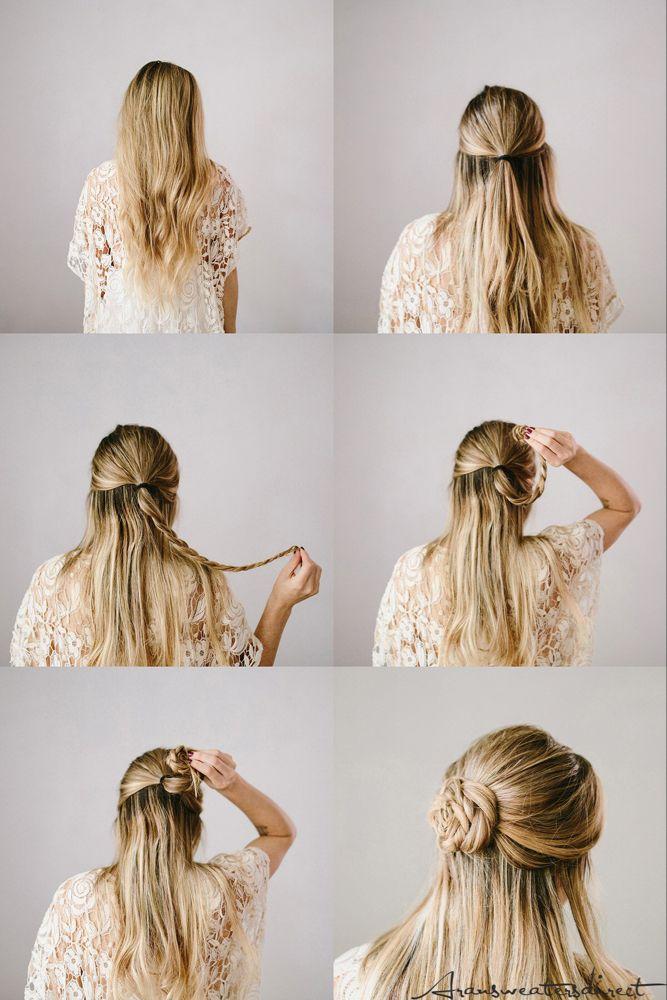 Diy Rose Bun Hair Tutorial In 2020 Hair Bun Tutorial Bun Hairstyles Prom Hair Tutorial