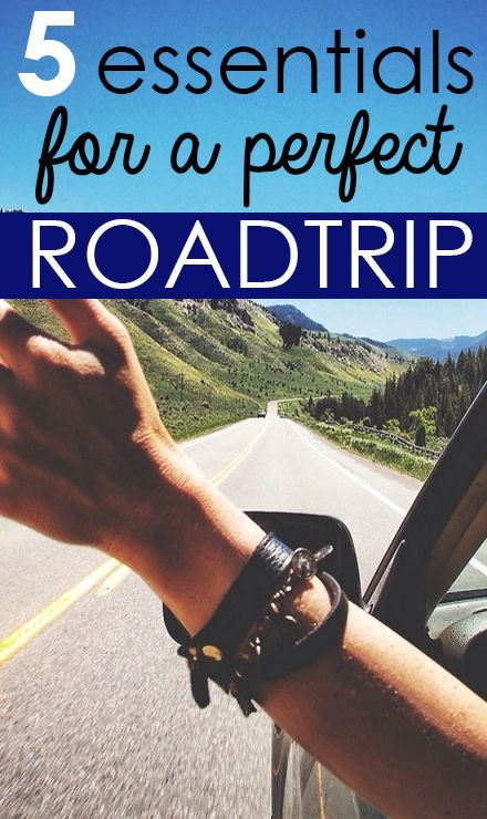 Road Trip Essentials – SRtrends. Road trip must haves!