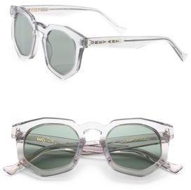 Grey Ant Composite 47MM Round Sunglasses - $345.00