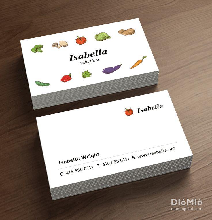 Vegetarian Business Cards