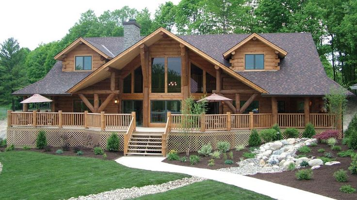 Log Home Design Plan and Kits for Big Sky