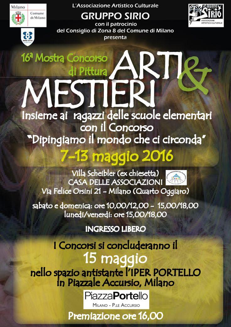 Locandina per Gruppo Sirio Milano, studio e realizzazione grafica
