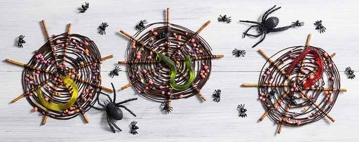 Halloween Spiderwebs