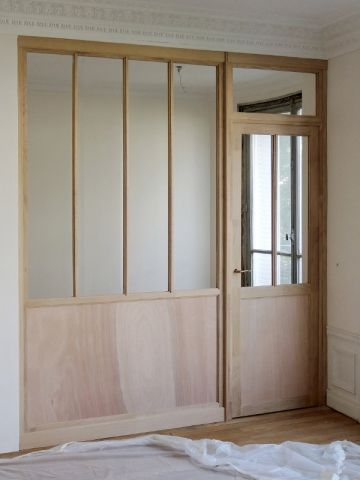 17 best ideas about verriere en bois on pinterest - Cloison bois interieur ...