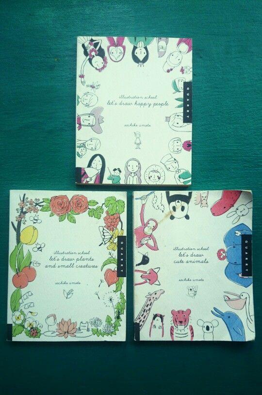 Sachiko Umoto illustration books. www.facebook.com/sakurakidspage