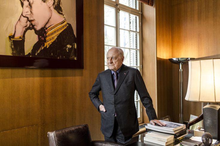 Sein Unternehmen prägte den Esprit von Paris: Pierre Bergé, Mitbegründer des Hauses Yves Saint Laurent
