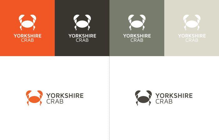 Yorkshire Crab Brand Design - logos