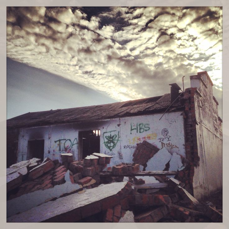 Demolition pending. Wairoa, New Zealand.