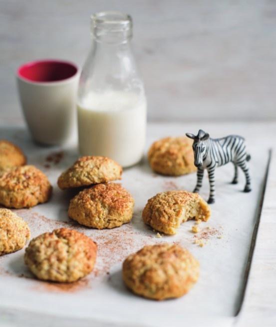 apple banana macadamia cookies | Thermomix | www.louisefultonkeats.com