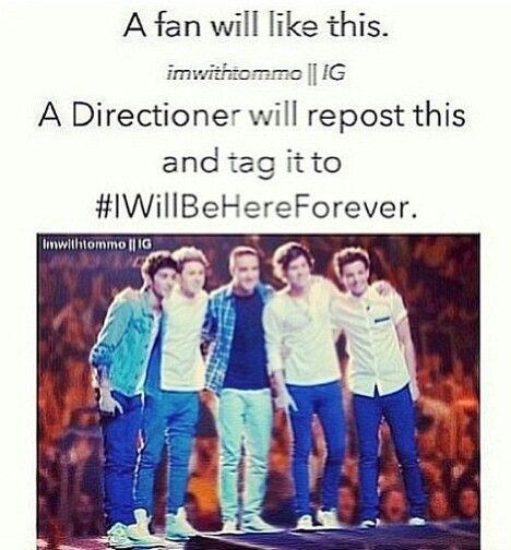 #IWillBeHereForever