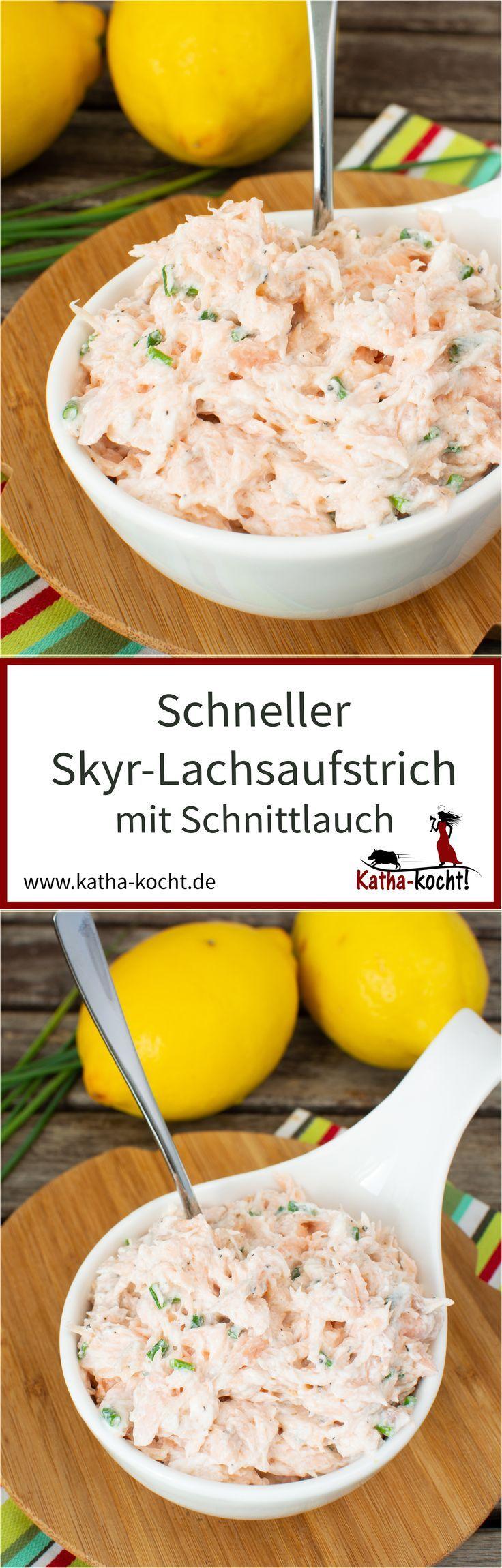 Skyr-Lachsaufstrich