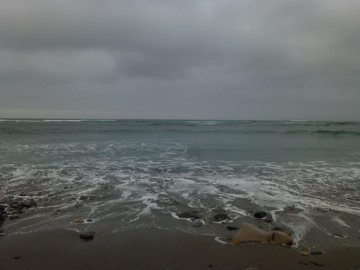 El movimiento de las olas...  #bello