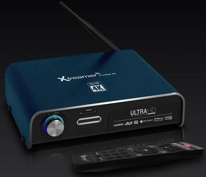 Xtreamer Prodigy 4K - Dark Blue - Gudang Gadget Murah