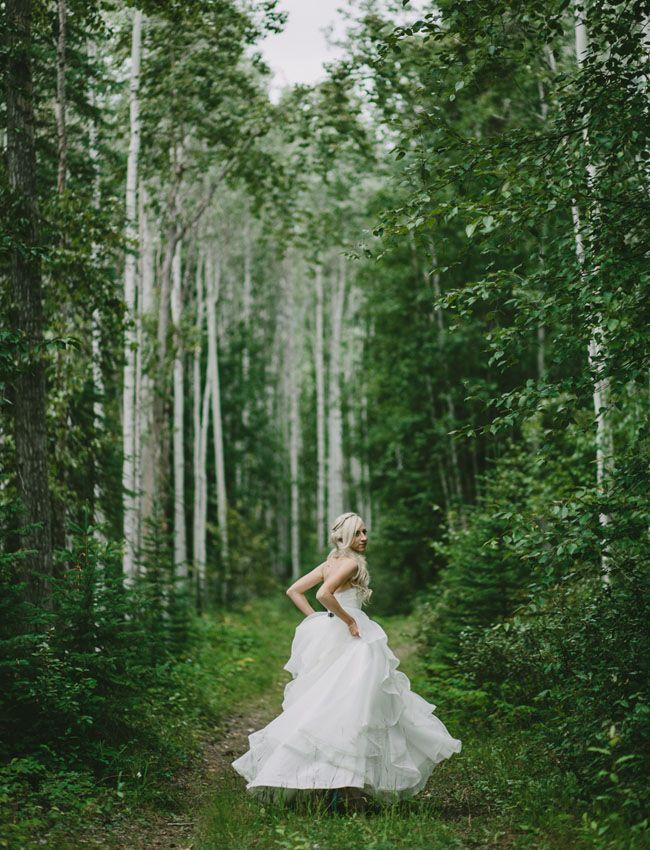 Hayley Paige wedding dress - such a gorgeous portrait!