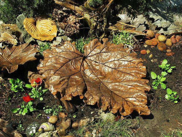 Concrete leaf tutorial