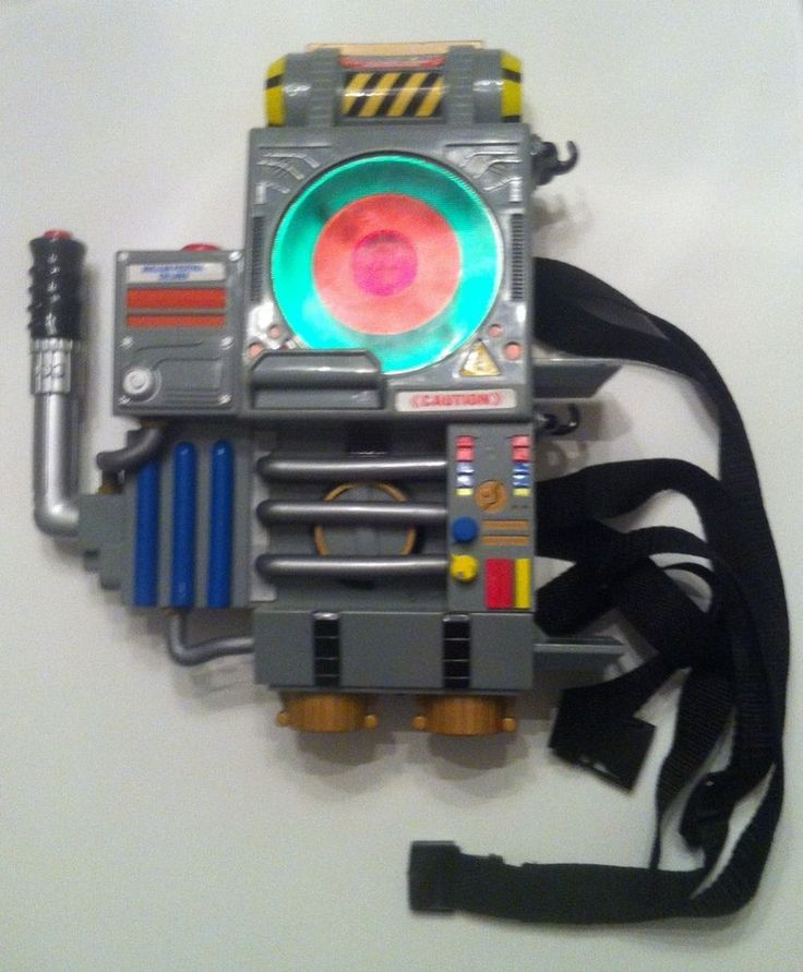1997 Extreme Ghostbusters Proton Pack - No Hose and Gun - Proton Pack Only #Trendmasters