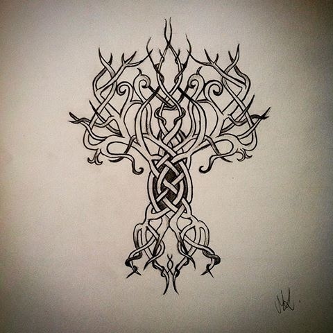 20 Norse Tattoos Watercolor Trees Ideas And Designs