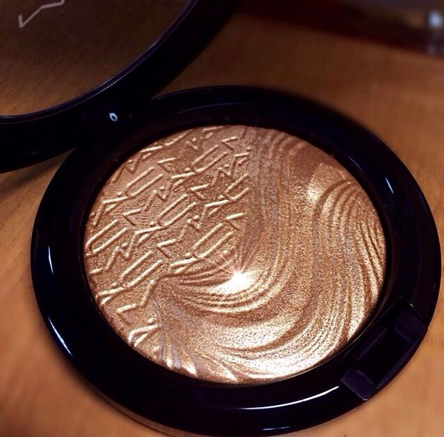 Mac- makeup. Superb Highlighter from Magnetic Nude collection out Jan 2014 very close to the most wanted limited collection highlighter Whisper of Guilt. Since Superb is a limited product if your having trouble finding it Soft & Gentle & Lightscape are thee best shimmer highlights that are part of the permanent MAC line so look for those.