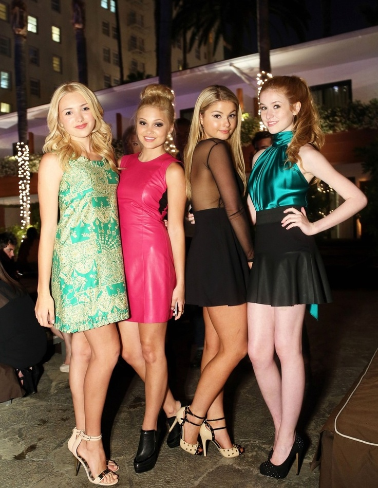 Peyton List / Olivia Holt / Stefanie Scott