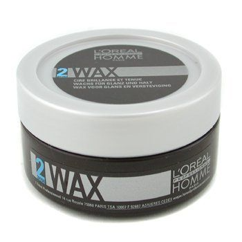 L'Oreal Professionnel Homme Wax - Definition Wax - 50ml/1.7oz by L'Oreal Paris. $13.62. Suitable for all hair types. Light control. Flexible Hold. Natural sheem. Hold Factor 2 (1-6 Range). Gives flexible hold to sculpt desired style Imparts a natural matte sheen Provides a finishing touch to dry hair OR works through whole head for a groomed look Suitable for all hair types - L'Oreal - Professional Homme - Hair Care