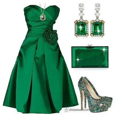 Emerald Outfit