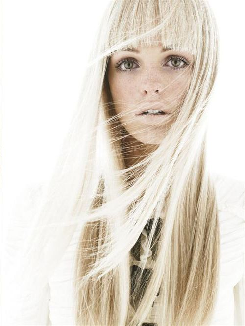 109 best images about Platinum Blonde, Blunt Bangs on ...