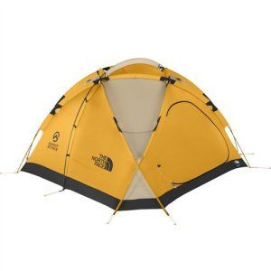 The-North-Face-Bastion-4-4-Season Dome Tent features lightweight canopy,nylon bucket floor and dual doors.Has to be the most waterproof tent on the market.Perfect for winter camping.