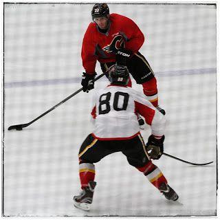 Calgary Flames training camp 7.