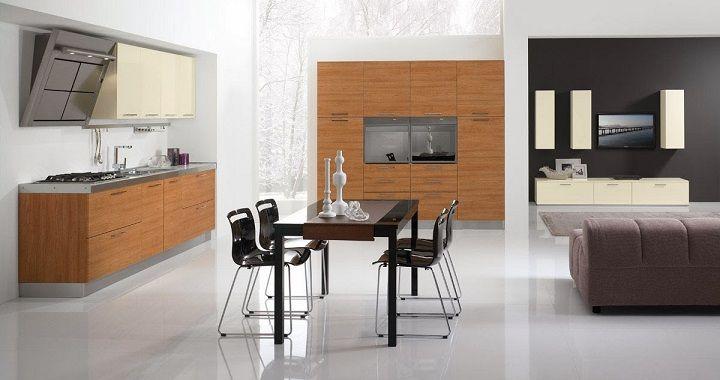 Cocinas integradas, solución para pisos pequeños