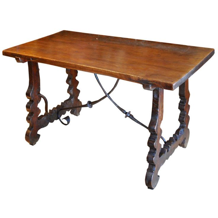 Beautiful 17th Century Spanish Table Desk Dining