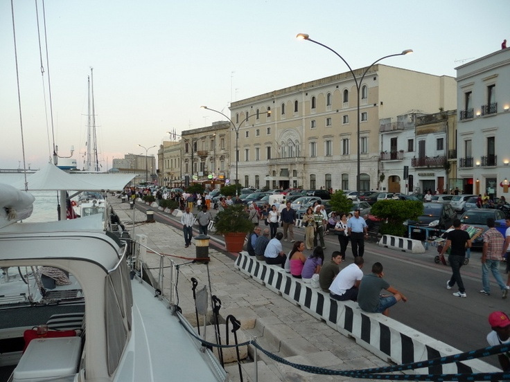 Brindisi, Italy  Great port city with lots to do and see.  Love the people.