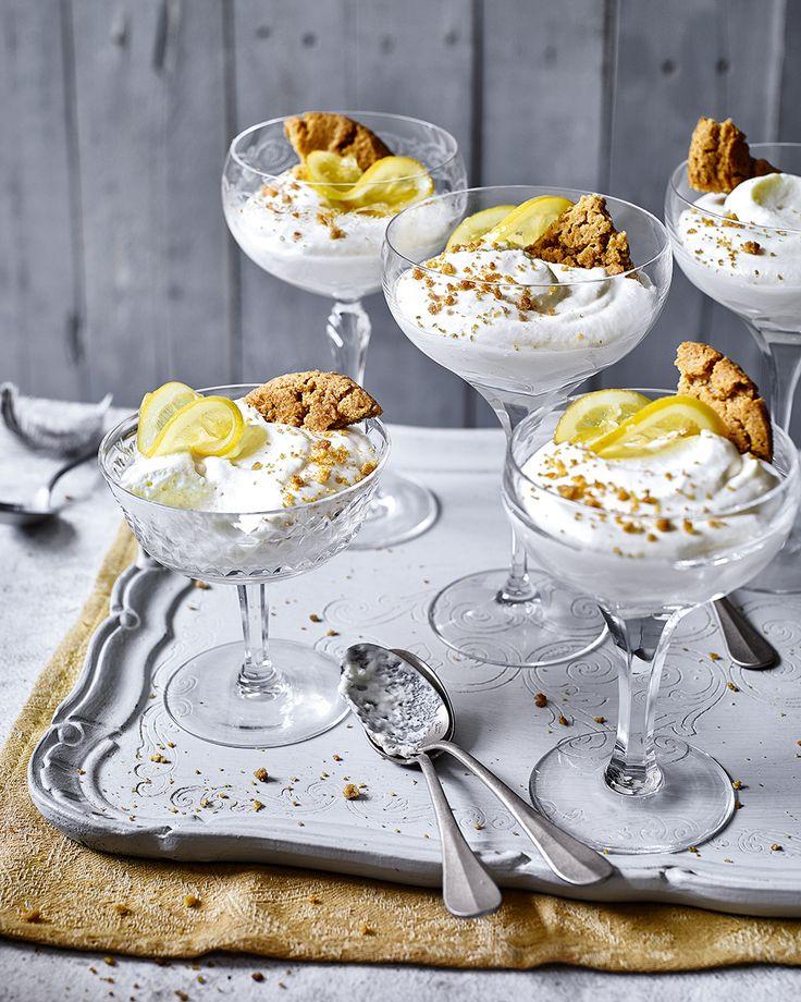 108 best images about glass desserts on syllabub white chocolate and tiramisu