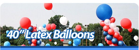Wholesale Balloon Supplies & Accessories for Auto Dealers (buy large balloons in bulk)