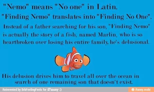 Well... that just ruined my childhood.